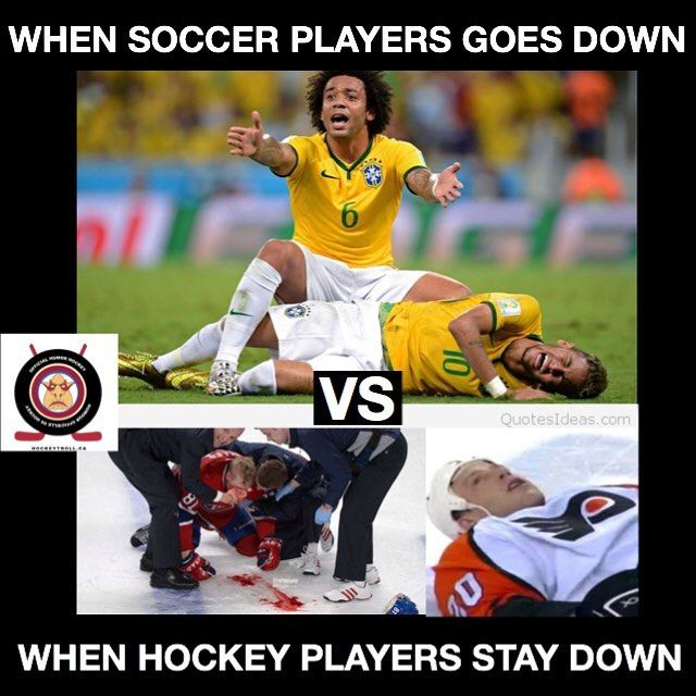 Hockey When Hockey Meets Soccer Join Us For Some Truly Amazing Content Hockey Players Hockey Memes Hockey Humor Field Hockey Hockey Soccer