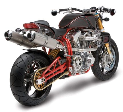 acosse moto made with titanium