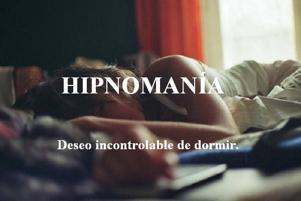 Hipnomania - Uncontrolable desire of sleeping (Me all the time!)