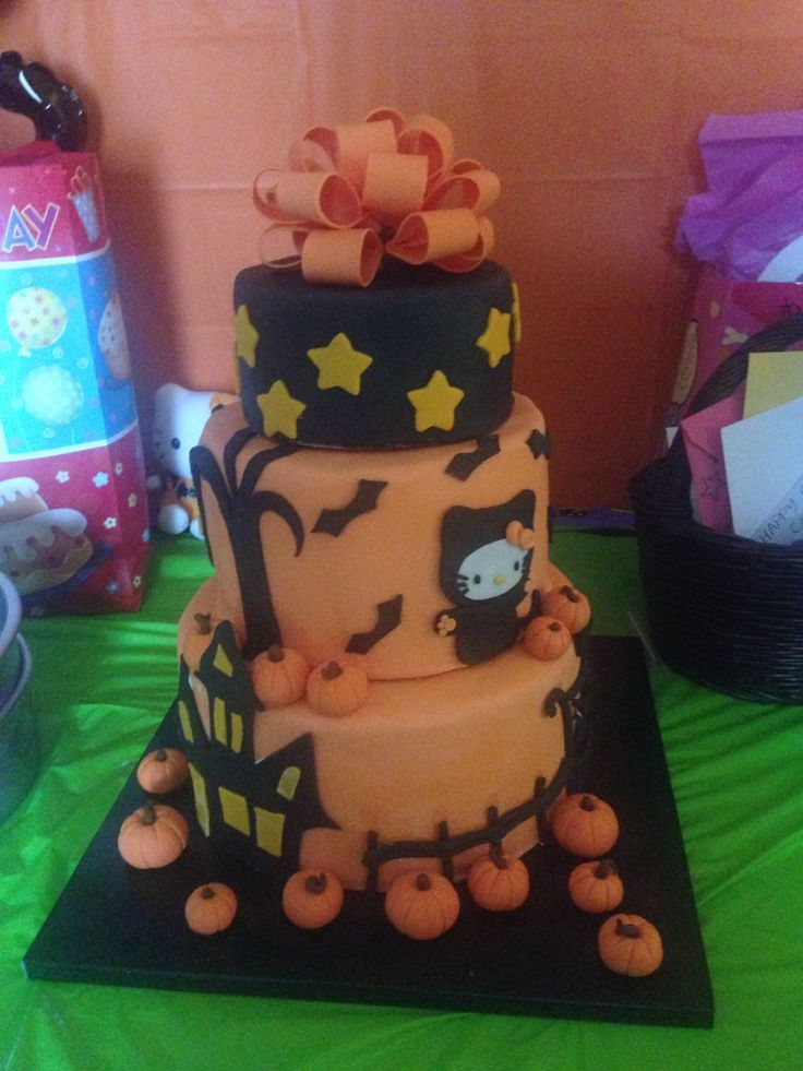 40 best Cake! images on Pinterest Halloween foods, Cookies and - halloween birthday cake ideas