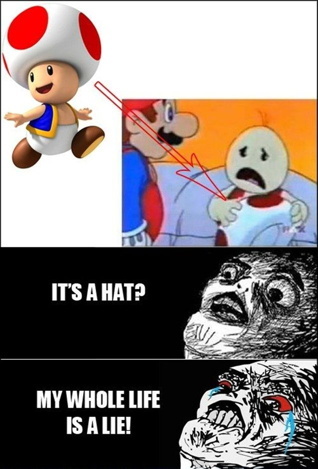 The Toad is a Lie!