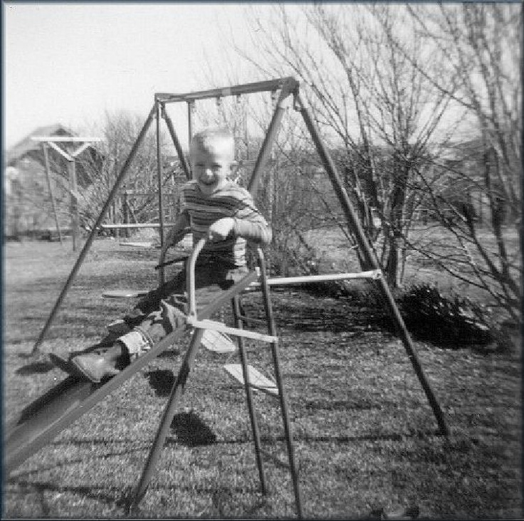 Vintage Swing Set and Slide Combo | My girls' early years ...