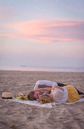 Beach love is the best kind of love.