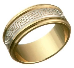 MENUET RING Gold and white gold 18K