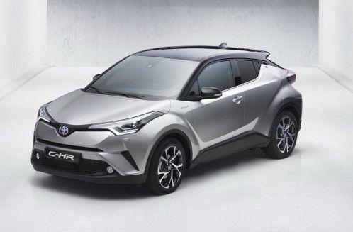 C-HR: Toyota ya tiene su crossover compacto