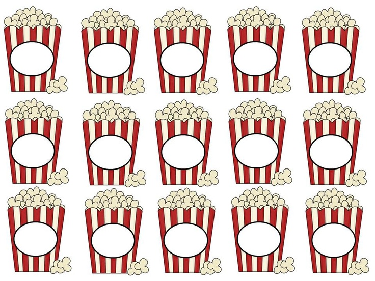 Popcorn Pencil Toppers go great with my back to school theme, A Popcorn Welcome.  This freebie is surely to be loved by your students.