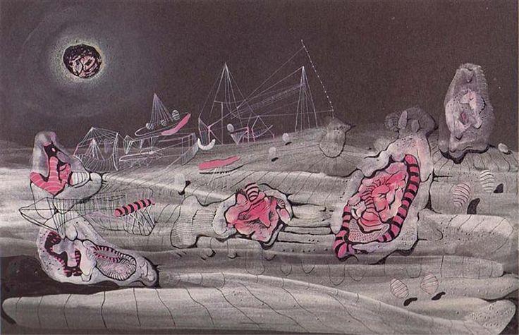 Luz oscura, 1940 - Roberto Matta