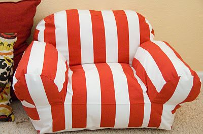 Making a kid's bean bag sofa chair like the ones at target.