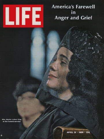 LIFE Magazine April 19, 1968 - Martin Luther King Jr. Widow Coretta Scott King