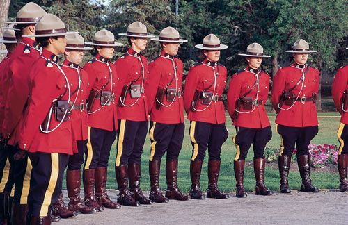 The royal Canadian mounted police.