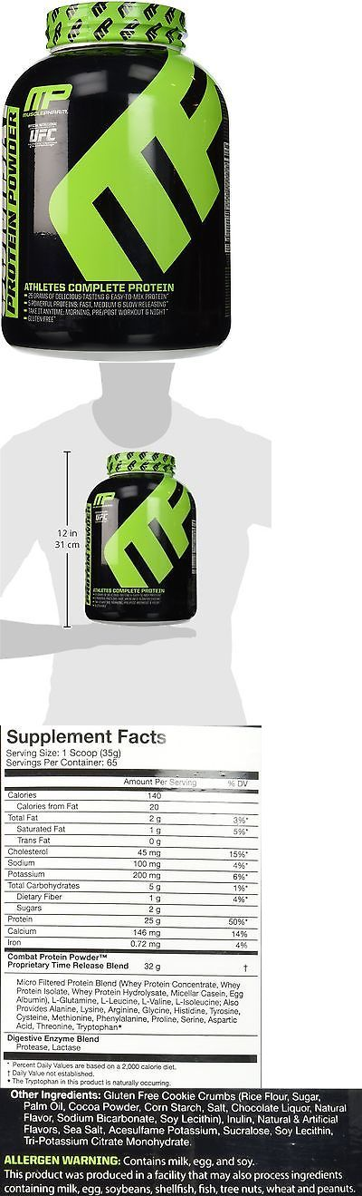 Other Sports Supplements: Muscle Pharm Combat Protein Powder 5Lbs. Cookies And Cream BUY IT NOW ONLY: $44.99