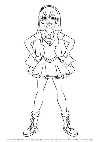 Image result for dc super hero girls coloring pages | Dc ...