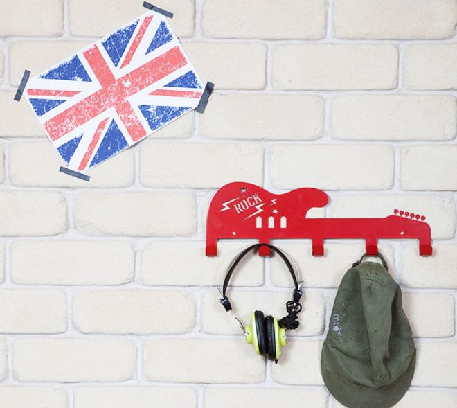 Let your munchkins' imaginations run loose with these gorgeous laser-cut children's coat hangers and shelves.
