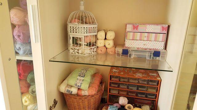 Ghemuletulincalcit: My crochet yarn closet...