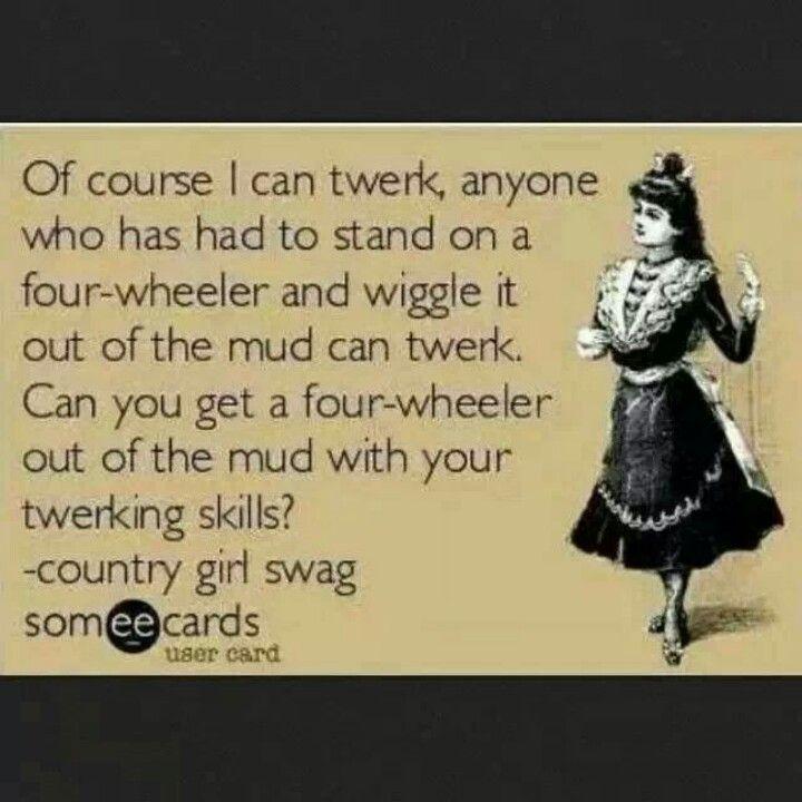 Ha! Tweaking on a 4-wheeler