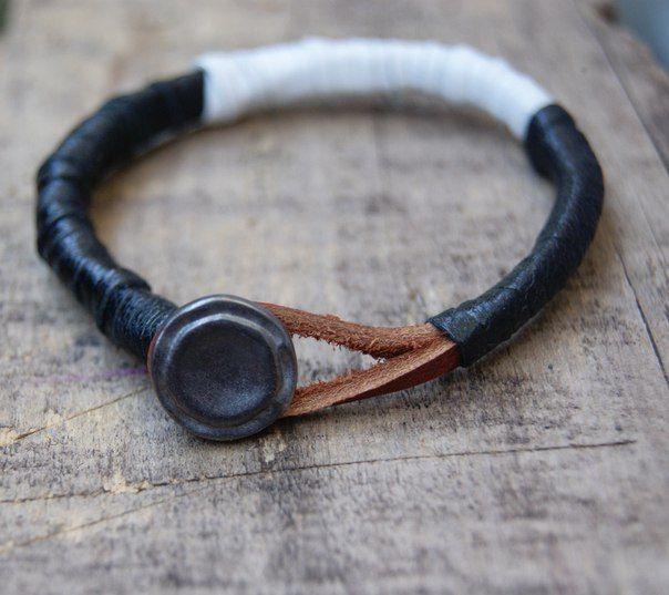 Купить браслет,кожаные браслеты,мужские браслеты   ВКонтакте
