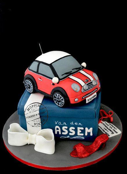Mini cooper cake Cake by Muffinmania