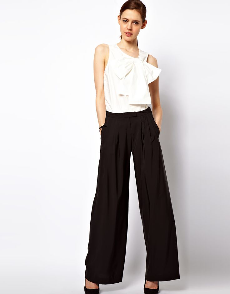 Wide Leg Pants from ASOS...I love them! These are priced so well I may get 2 pair!