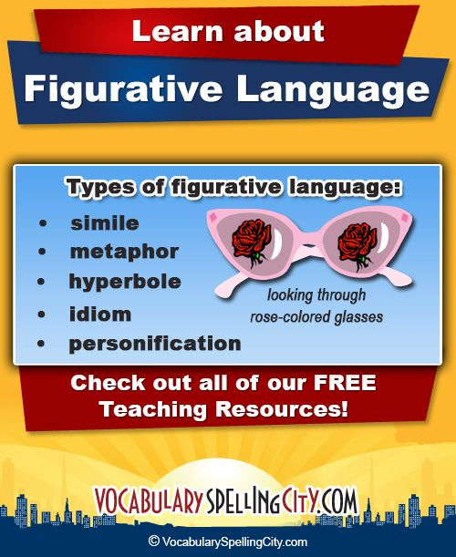 "A student who blurts out ""I'm so hungry, I could eat a horse!"" right before lunch may not realize he or she is using figurative language. Figurative language involves using words or phrases that"