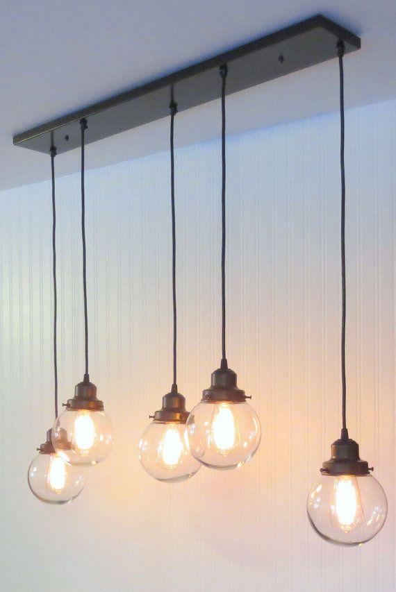Biddeford II. CHANDELIER Light Fixture Rectangular by LampGoods