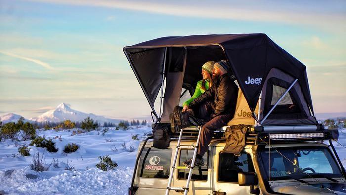 Freespirit Recreation: Adventure Series M55 Jeep Edition Roof Top Tent