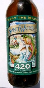 SweetWater 420 Extra Pale Ale, American Pale Ale 5.4%ABV