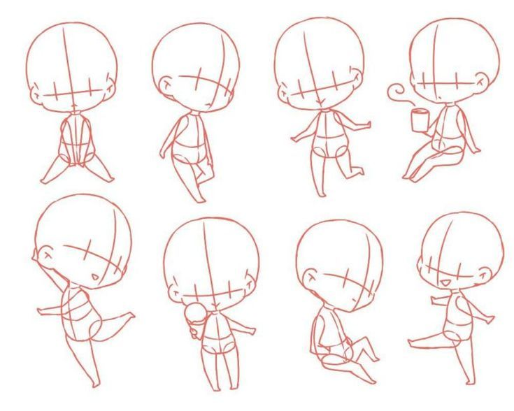 Chibi Body Manga In 2020 Chibi Girl Drawings Anime Drawings Tutorials Chibi Body