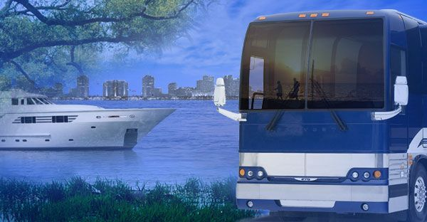 Waterfront RV Campground in New Orleans. With marina, villa, houseboat and camper rentals.