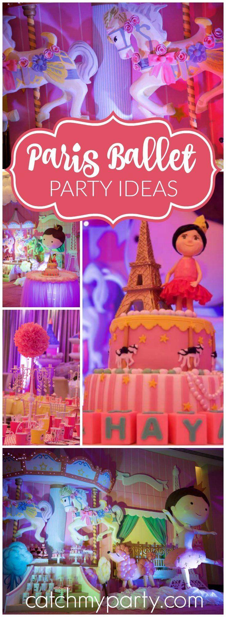 413 best Ballerina Party Ideas images on Pinterest | Baby girl ...