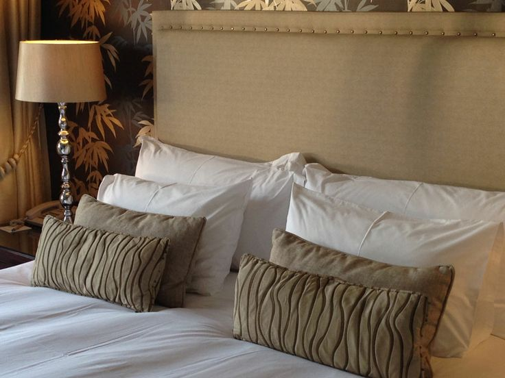 We take pride in our pillows. And our linen. And our curtains and lampshades and all the finishing touches that transform into your four star stay at OVH. #beourguest #luxury #accommodation