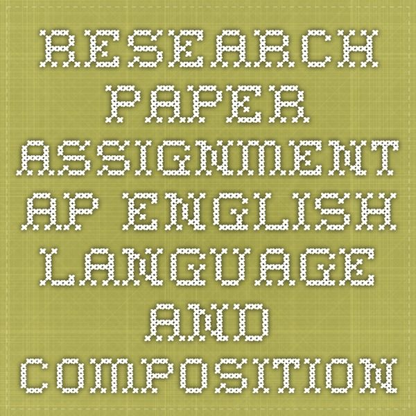 Structuring a research paper