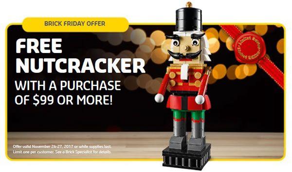 En novembre chez LEGO : Brick Friday et sets offerts: Le Store Calendar US de novembre 2017 est en ligne et même si nous savons que… #LEGO