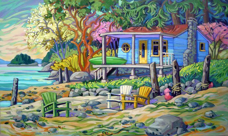 BRIGHT OMEN (50x30), by Greta Guzek