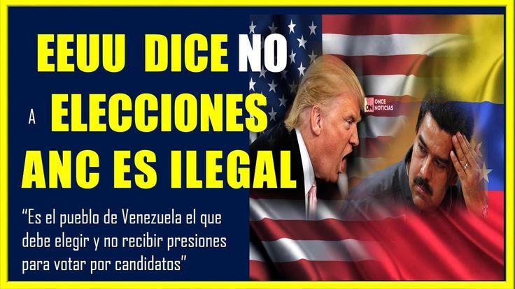 PRONUNCIAMIENTO DE EEUU ANTE ELECCIONES EN VENEZUELA ULTIMA HORA HOY 23 ENERO 2018 #venezuela