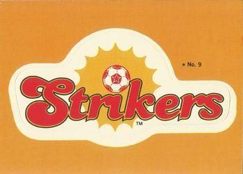 1979 Topps NASL #9 Fort Lauderdale Strikers Logo Front