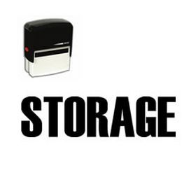 #Self-Inking #Storage #Stamp. Looking for stock stamps to add to your office supple arsenal? Click here to add this Self-Inking STORAGE Stamp for home or office use to your cart today!