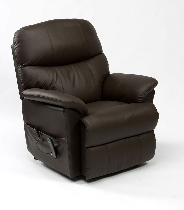 comfortable chairs for reading in brown leather