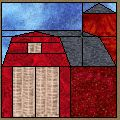 The Old Red Barn - Free Quilt Block Patterns