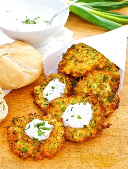 Buñuelos de calabacín y feta, receta de Turquía con Thermomix « Thermomix en el mundo - si potranno fare col Crisp?