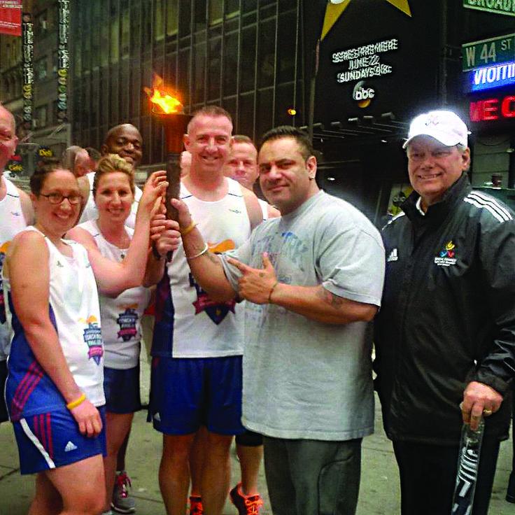 Sheru Aangrish the first Asian to hold the Olympic torch in New York http://goo.gl/STluMl http://goo.gl/biWeMW