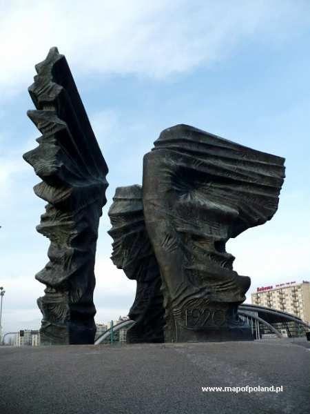 Silesian Insurgents Monument (Pomnik Powstańców Śląskich) - Katowice, Poland