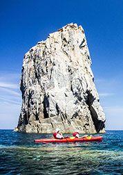 Utazás: Korzika tengeri kajakkal