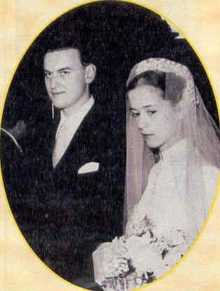 principe Nikolai Romanovich de Rusia y condesa Sveva della Gherardesca. 1932