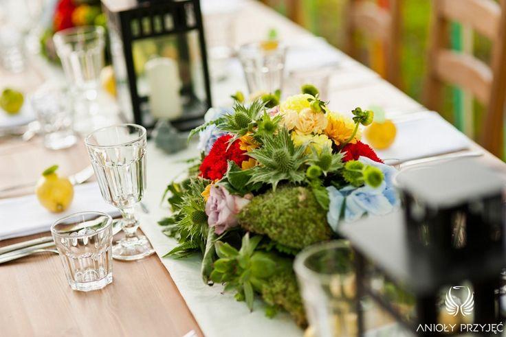 3. Forest Wedding,Outdoor reception decor,Centerpieces / Leśne wesele,Wesele w plenerze,Anioły Przyjęć