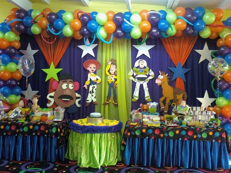 Toy story decoraciones de cumplea os de ni os pinterest - Decoracion de cumpleanos para ninos ...