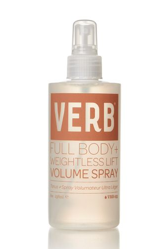 Dirty Hair: Spring '14's Stand-Out Trend #refinery29 http://www.refinery29.com/2013/09/53073/dirty-hair-trend#slide1 Okay, let's start at the very beginning (a very good place to start). If you've ever wondered why volumizing sprays are so dang heavy, this super-lightweight product is for you. It gives a hint of volume that really lasts — trust, it makes a major difference over multiple days. Verb Volume Spray, $14, available at Urban Outfitters.
