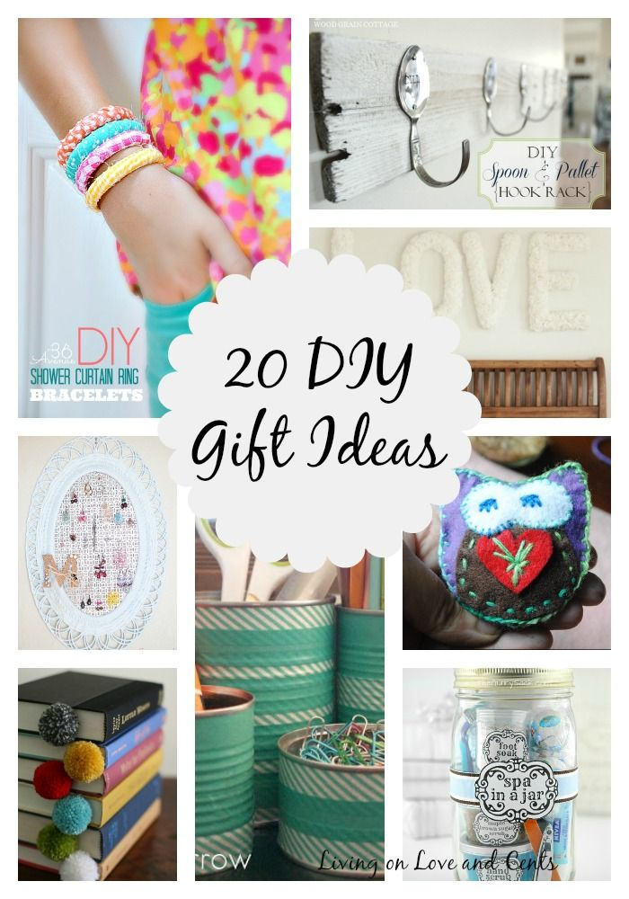 20 diy gift ideas. Add personalized wall art to this list!