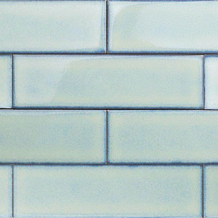Byzantine Alice Blue Ceramic Tile - Byzantine Collection - Ceramic Tiles
