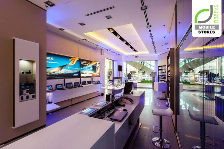 MOBILE STORES! Samsung Experience store, Budapest - Hungary