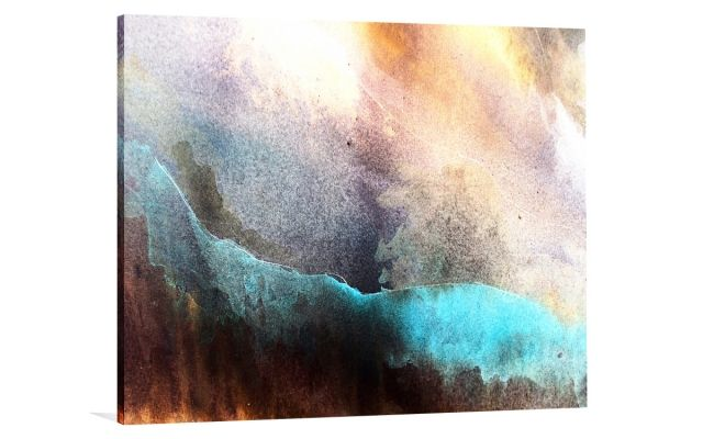 AQUA STORM [TCW - 54] - $239.20 | The Canvas Workshop | Original art for interior design, buy original paintings online